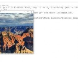 Loading Image with Tkinter Python