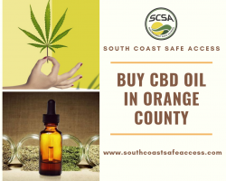 Buy CBD Oil in Orange County - South Coast Safe Access