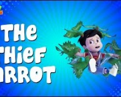 The Thief Parrot - Vir :The Robot Boy - Kid's animation cartoon series
